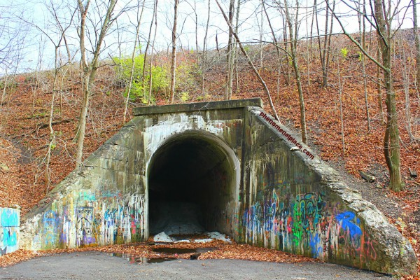 Green Man's Tunnel Haunted Places